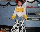 toy story  jessie the cow girl costume
