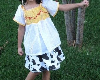 Toy story Jessie the cowgirl dress costume casual style