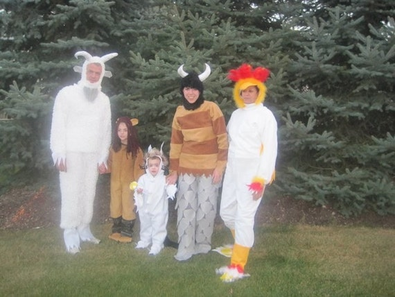 where the wild things are costume (Do not buy this listing)