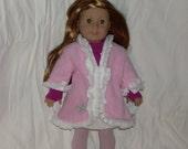 Pink Fleece coat