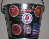 Eagle Scout Badge bucket