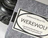 Werewolf Soap Bar with Loofa - Twilight Soap