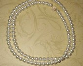Somewhere In Time Elise's Pearl Strand Necklace