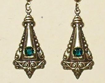 Titanic Jewelry Ruth's Boarding Earrings