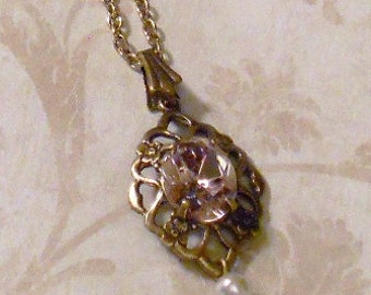Titanic Jewelry Rose's Deck Strolling Necklace