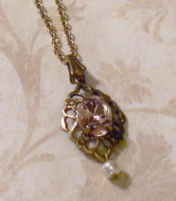 Items similar to Titanic Jewelry Rose's Deck Strolling Necklace on Etsy