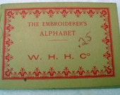The Embroiderer's Alphabet W.H. H. Co Patterns Charts Transfers