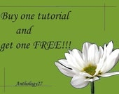 SALE - Buy one tutorial and get one free
