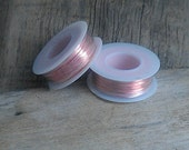 1/4 LB Roll of Bare Solid Copper Wire 4 oz spool Jewelers Quality Your Choice of Gauge from 14 thru 24