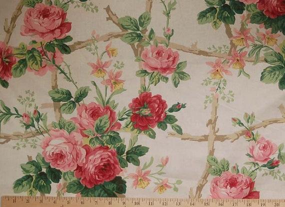 Sale Destash Waverly Briarcliff Home Decor Fabric 1 Yard X 56