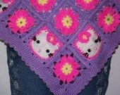 Kitty Poncho Crochet