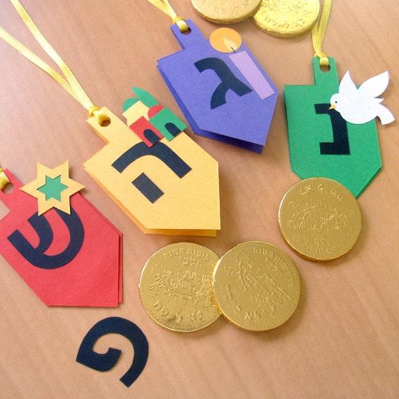 Hanukkah, Chanukah, Festival of Lights Gift Tags