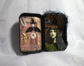 Gothic Altered Tin with Witch (2)