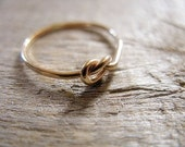 Knot Ring 14k Gold Fill