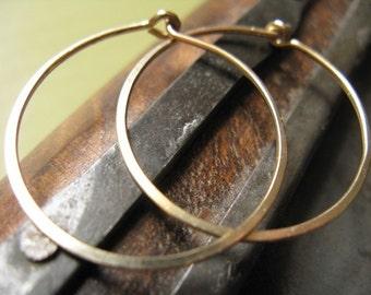 Hoop Earrings 14k Gold Fill