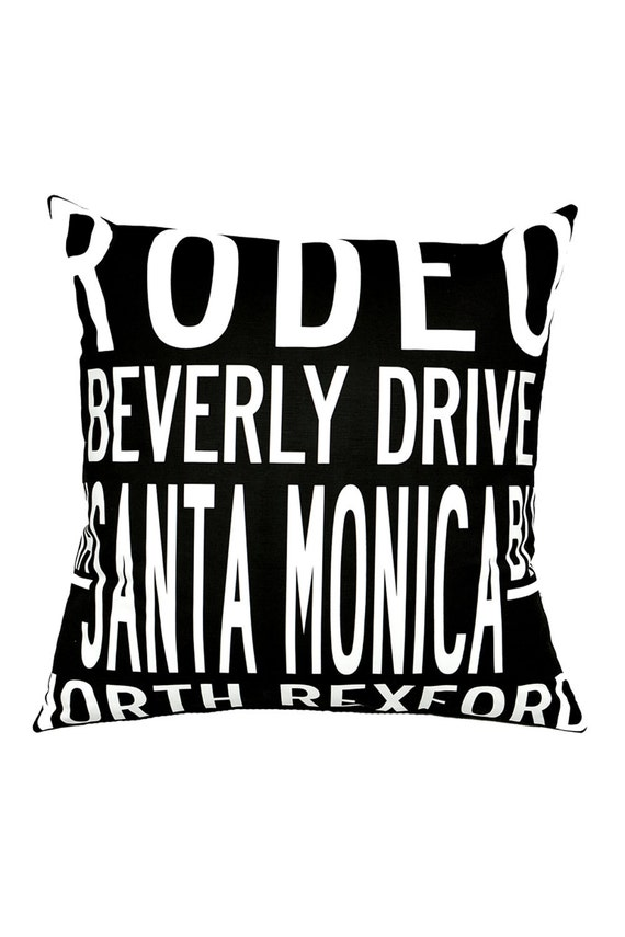 BEVERLY HILLS Destination Pillow-Ready To Ship.