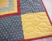 Stars and Checkerboard Quilt NOW ON SALE  WAS 120.00  now 50.00