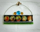 Victorian Baby Magic Lantern Suncatcher
