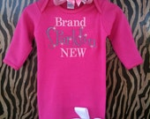 Brand Sparklin New Infant Gown