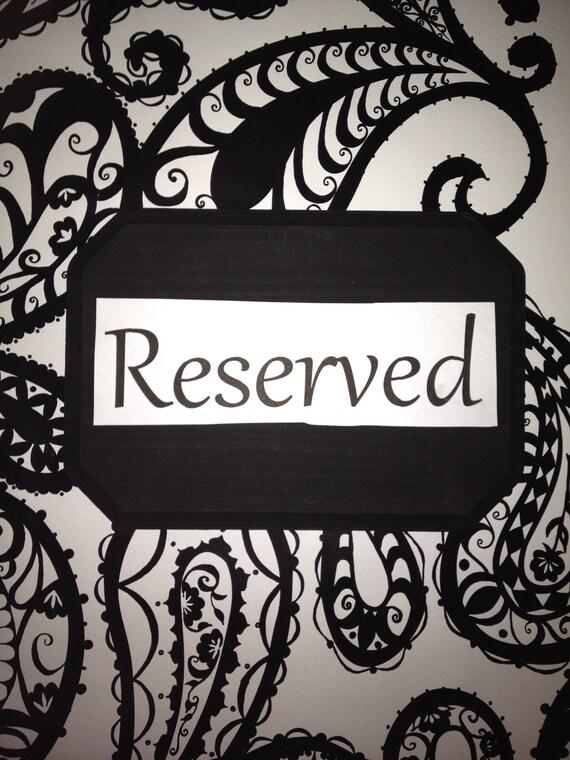 Reserved - Vicki