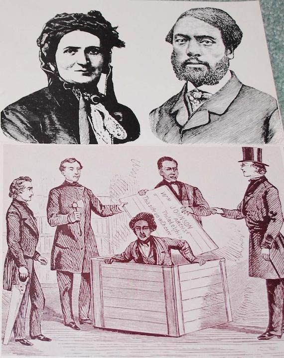 Underground Railroad Vintage Ephemera 4 pieces