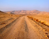 hiking the negev