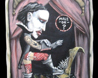Marilyn Manson, The Marvel in Make Up