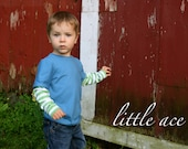 Merrick: Comfy Layered Shirt... PDF Sewing Pattern and Tutorial... Size 6 month-4T