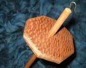Lacewood/Cherry Drop Spindle