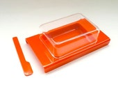 Butter Dish Bright Orange Andre Morin Design