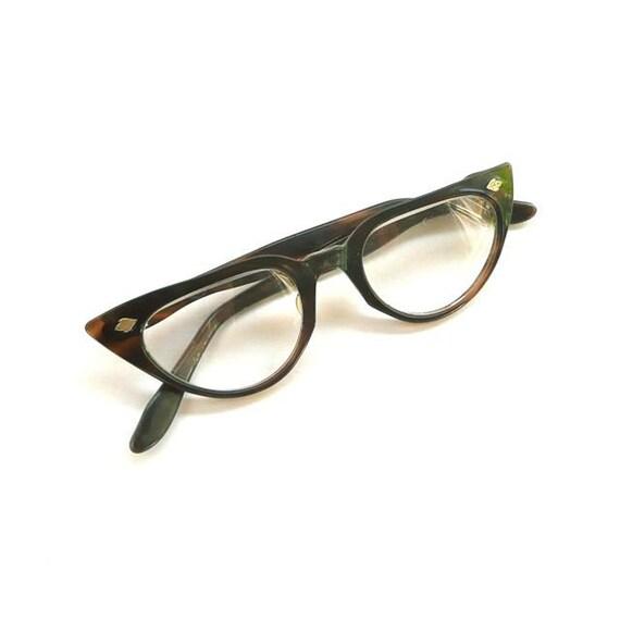 Vintage Tortoiseshell Eyeglasses Cat's Eye