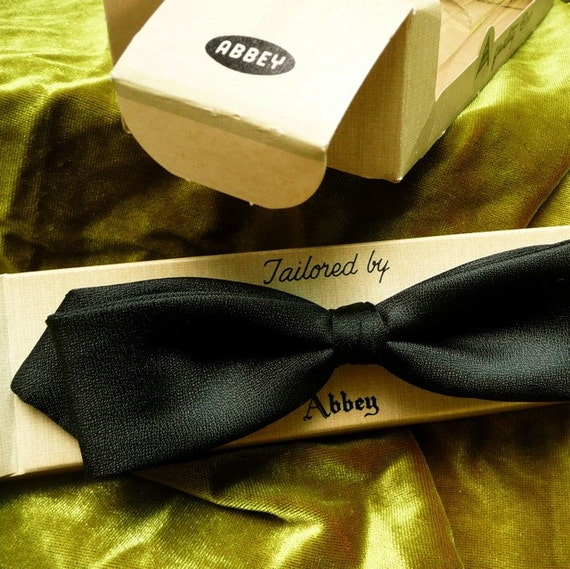 Vintage Bowtie\/ Tailored by Abbey