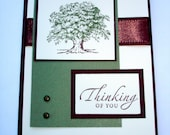 Thinking of You Oak Tree Card