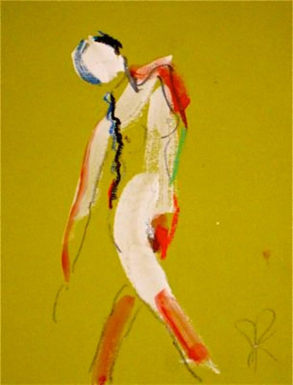 One Minute Pose XCI.4  by Gretchen Kelly