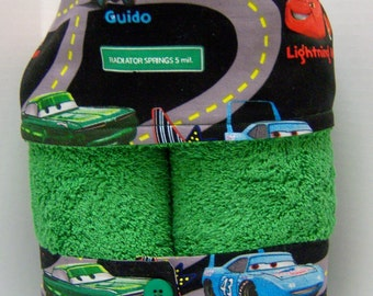 CARS Lightning McQueen, Mater, Doc