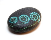 Blooms / Painted Stones by Amy Komar