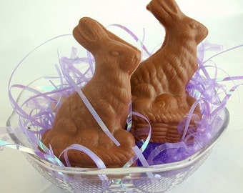 Chocolate Bunny - Easter Candy - Goats Milk Soap