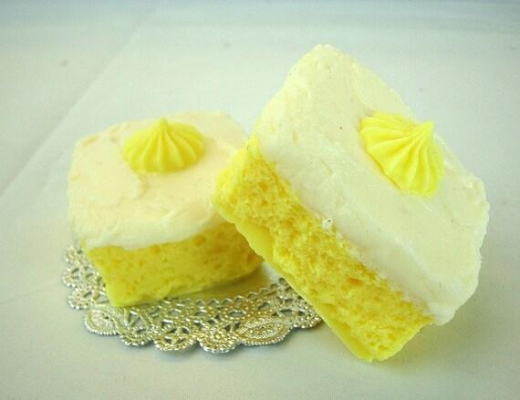 Fresh Lemon Cake - Goat's Milk Soap Bar
