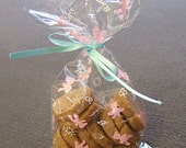Clear Cello Pink Teddy Bear Bags - 50 BAGS