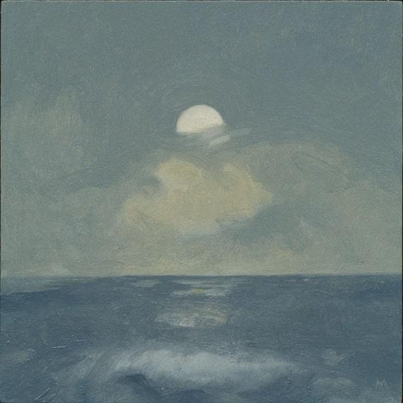 Moonrise at Ocean