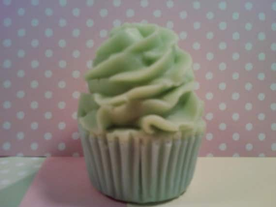 Goats Milk Cupcake Soap and Lotion scented in Vanilla Pear