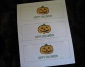 Halloween Bubble Labels