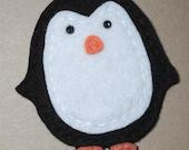Fiesta Felt Acrylic Penguin Embellishment Applique