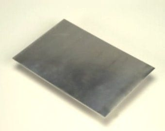 Super Soft Sterling Silver Sheet metal - 34 gauge - about 2x2 inch square