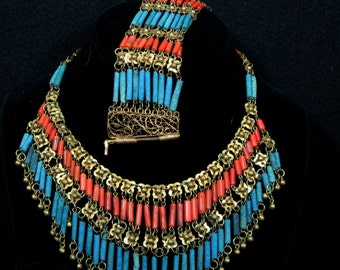 Vintage Egyptian Revival Perure