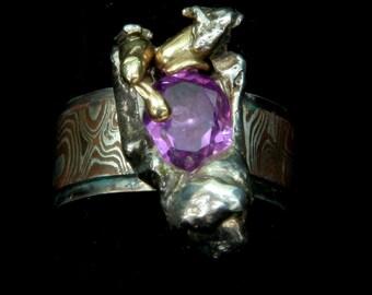 Stunning Huge Pink Sapphire ring