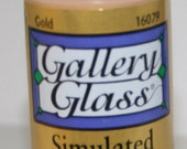 Gallery Glass Stimulated Liquid Leading Gold 2 ounces