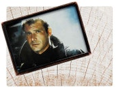 Handmade Copper Mirror / Pocket Mirror / Purse Mirror /  Blade Runner 80s movie