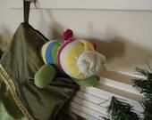 RESERVED FOR TSCRAPPER--Striped glove piggy