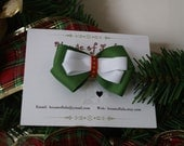RESERVED FOR TSCRAPPER -- Classic Christmas Bow